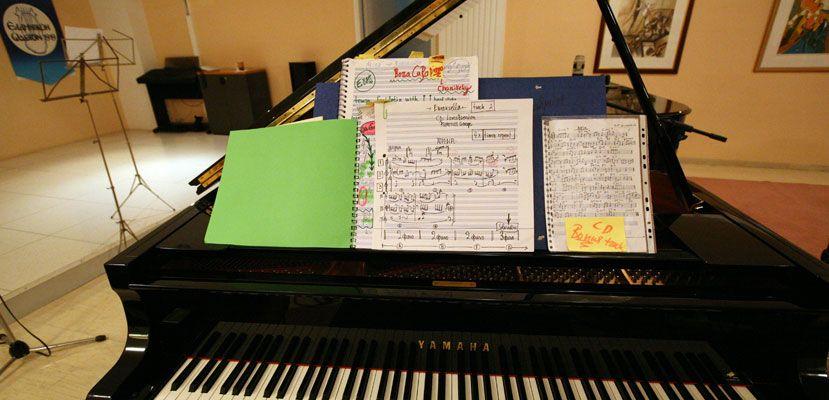 Μαθήματα Στιχουργικής & Μελοποιίας στο Ελληνικό Ωδείο